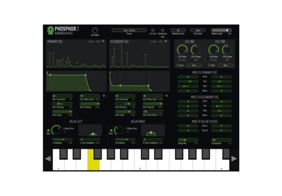 Audio Damage Phosphor 2 – test aplikacji iOS