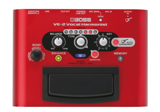 BOSS VE-2 – test procesora wokalnego