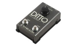 TC-Helicon Ditto Mic Looper – test loopera