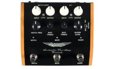 Ashdown Acoustic Pre-Amp Reverb