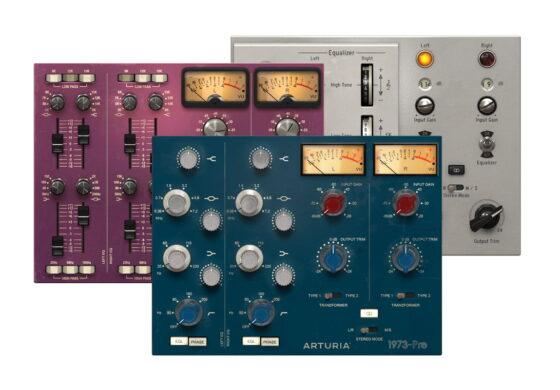 Arturia 1973-Pre, TridA-Pre, V76-Pre – test