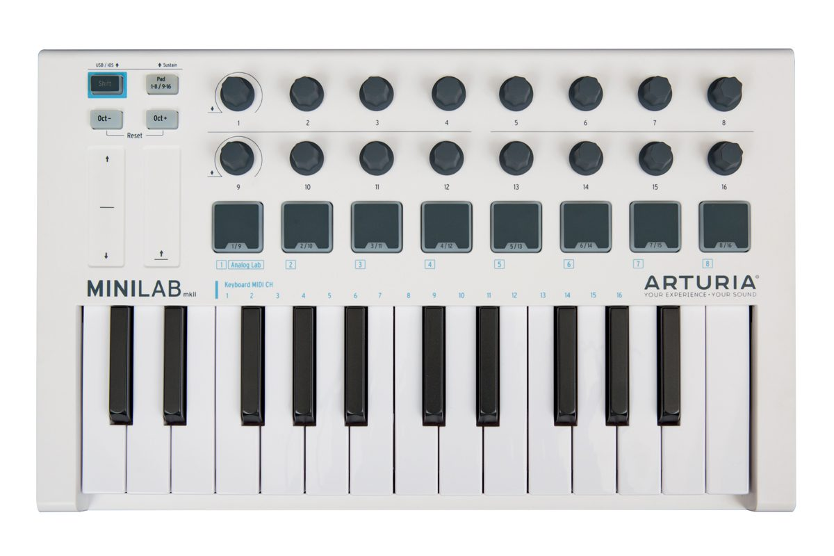 Arturia MiniLab Mk II – test klawiatury sterującej