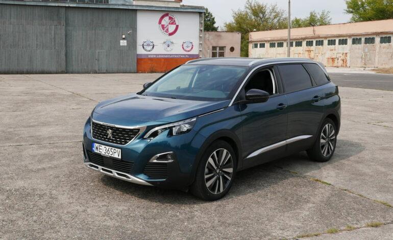 Peugeot 3008 i 5008 Allure 1.6 BlueHDI – test