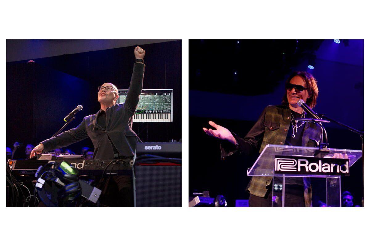 Steve Vai i Thomas Dolby uhonorowani przez firmę Roland