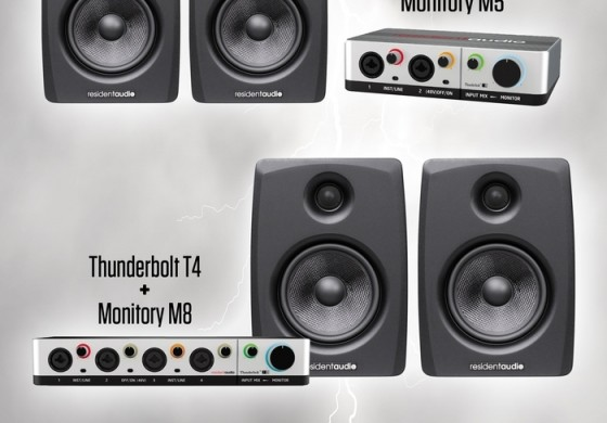 Promocja interfejsów Resident Audio Thunderbolt