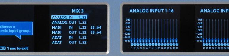 Ferrofish A32 wyswietlacze dwa 03 analog_in