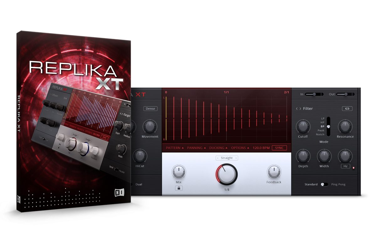 Native Instruments REPLIKA XT – wirtualny delay