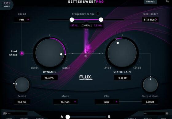 Flux:: BitterSweet Pro – nowa wtyczka dla komputerów PC i Mac