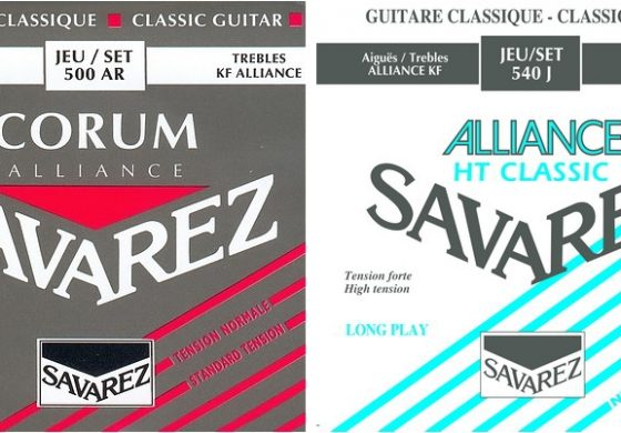 Dostawa strun Savarez do Music Info