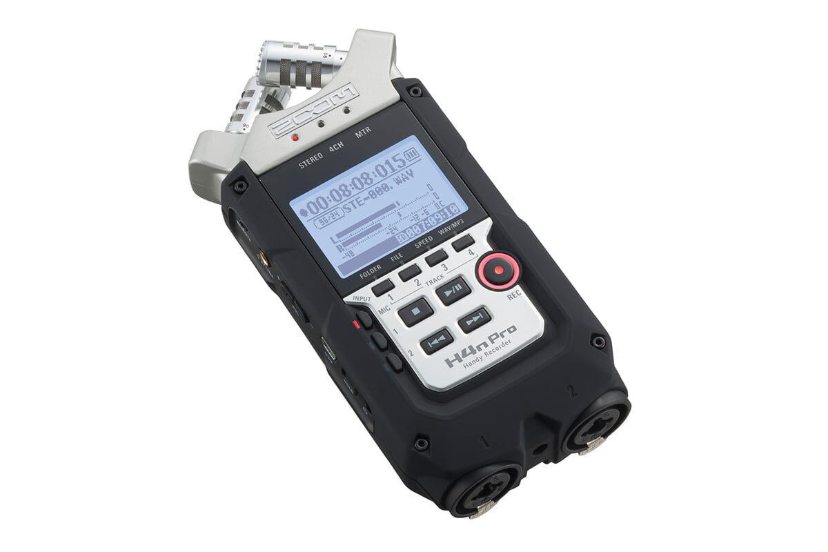 ZOOM H4n Pro – nowy rejestrator audio