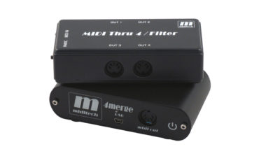 MidiTech 4merge i MIDI Thru 4/Filter – test