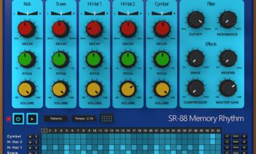 AudioThing SR-88 – wirtualny automat perkusyjny