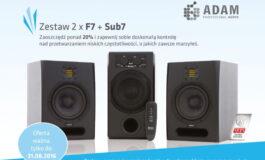 """ADAM Audio – w zestawie """"777"""" taniej o 20%"""