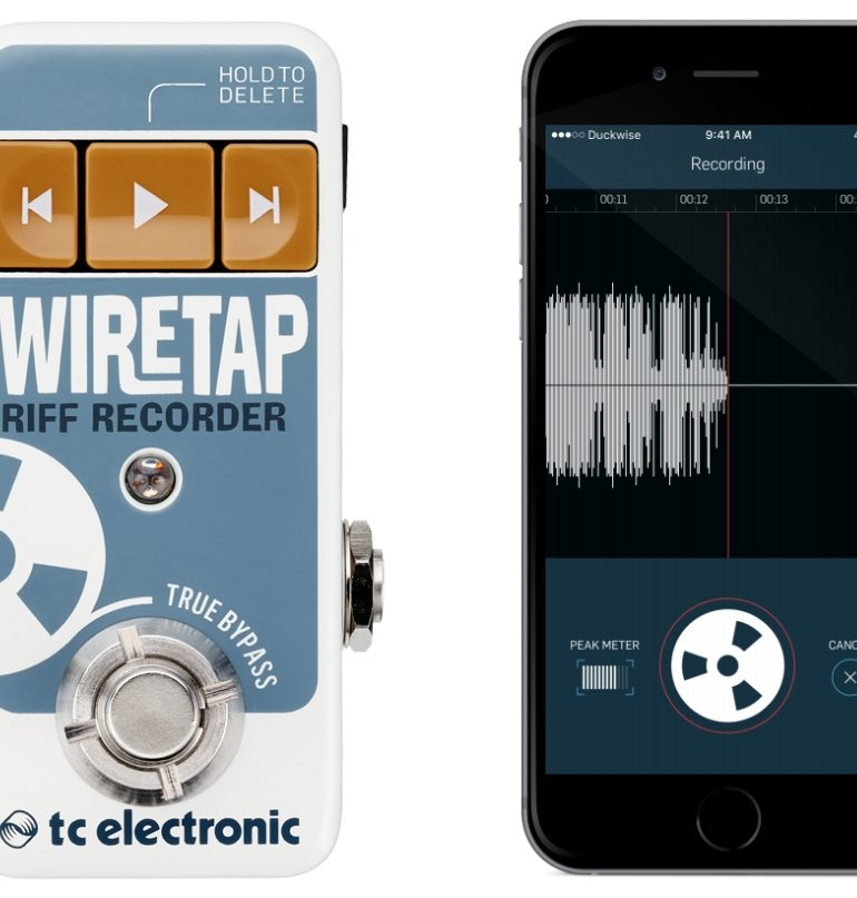 TC Electronic WireTap Riff Recorder – rejestrator riffów