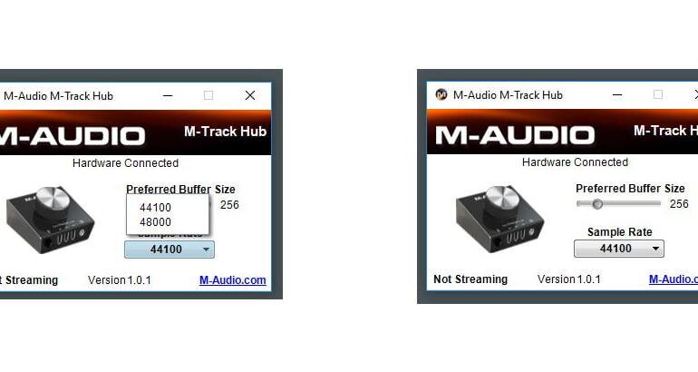 M-Audio M-Track HUB soft 03