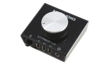 M-Audio M-Track Hub – test interfejsu audio