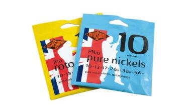 Rotosound Roto Yellows R10, Pure Nickels PN10 – test strun