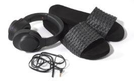 Sony – akcesoria podróżne z przewodów słuchawkowych