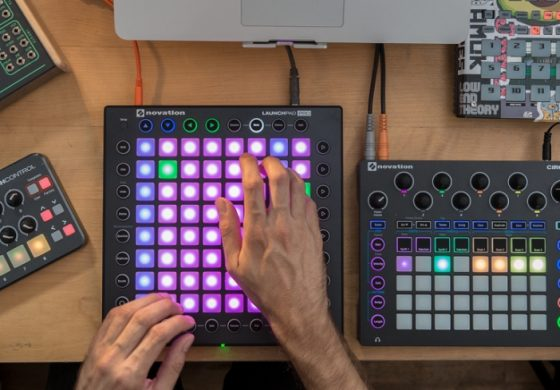 Novation Launchpad Pro – tryb SCALE
