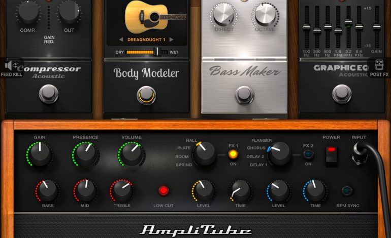 IK Multimedia AmpliTube Acoustic 01