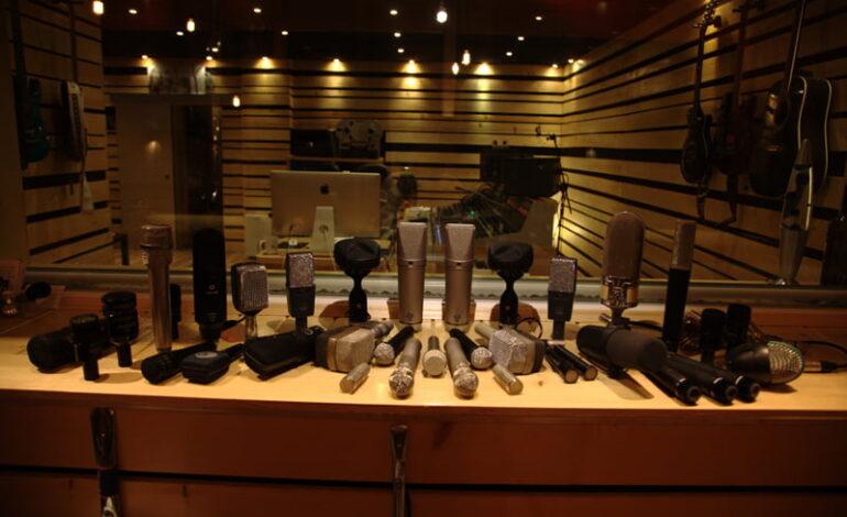 Kolekcja mikrofonow