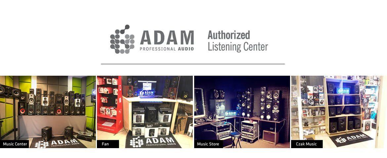 Centra odsłuchowe ADAM Audio
