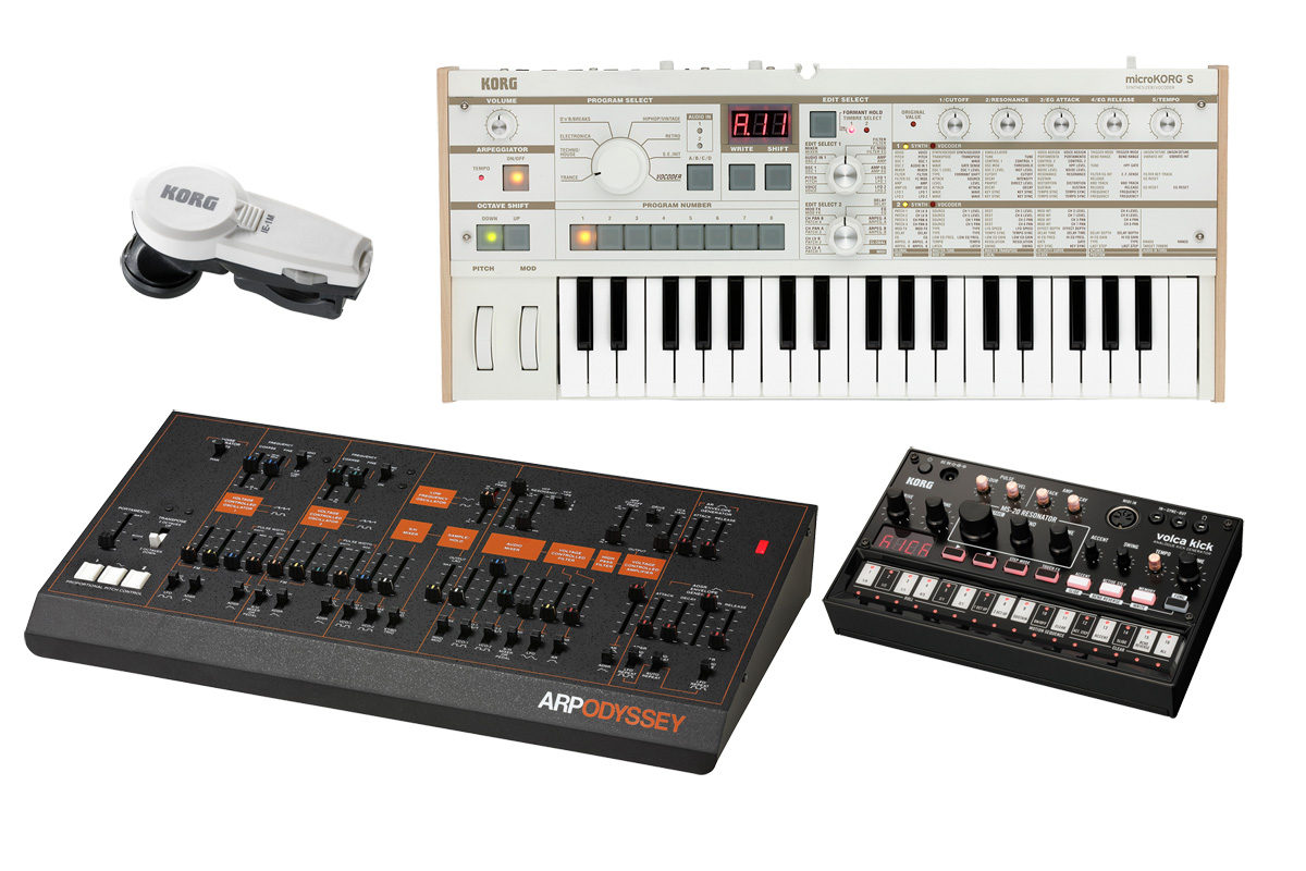 Korg – nowe syntezatory i akcesoria