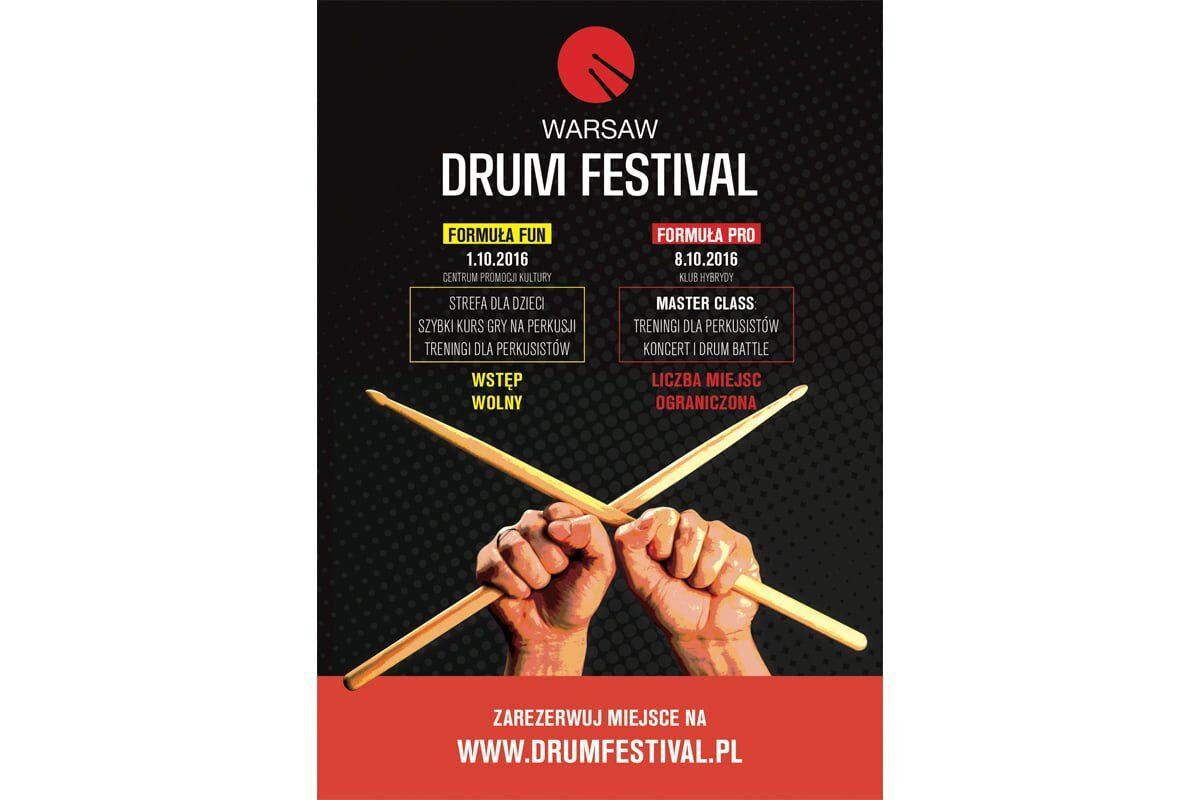 Warsaw Drum Festival 2016 w październiku