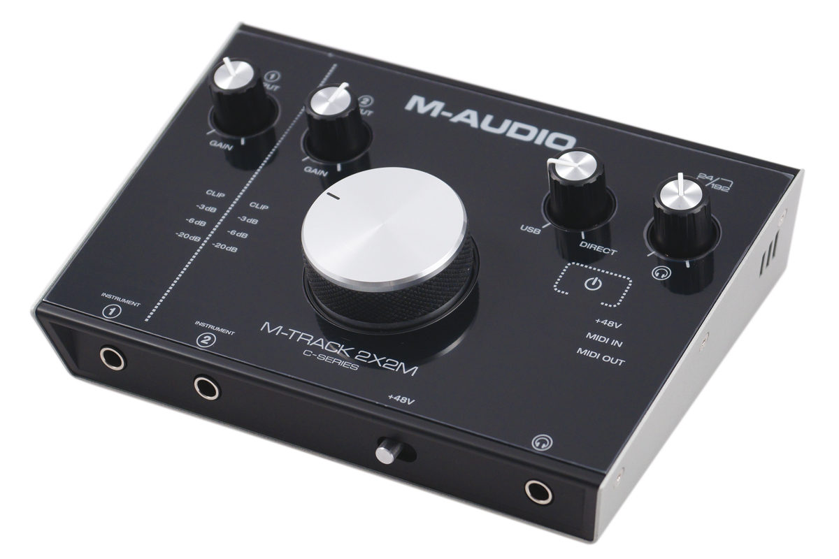 M-Audio M-Track 2X2M – test interfejsu audio