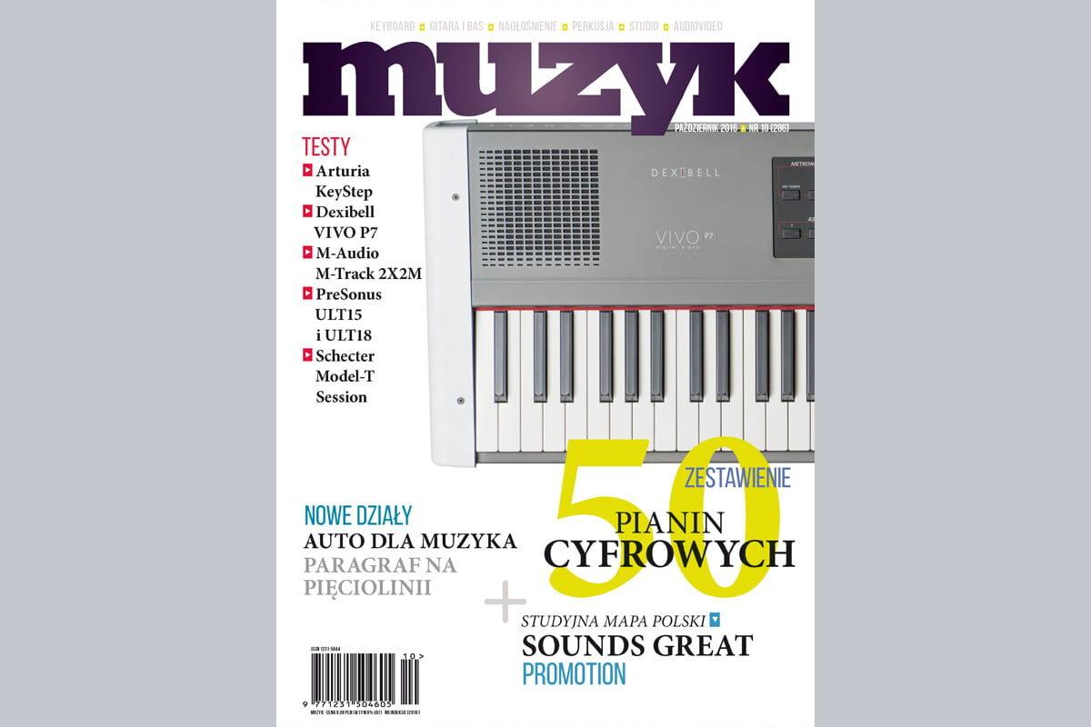 Październikowe wydanie miesięcznika MUZYK