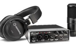 Steinberg UR22mkII Recording Pack – studyjny pakiet