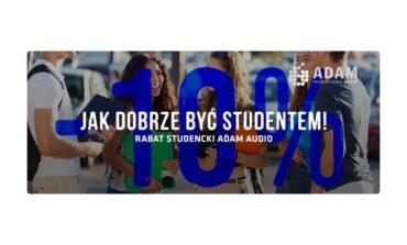 Rabat studencki ADAM Audio