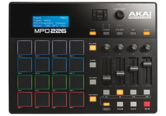Kontrolery USB/MIDI – zestawienie