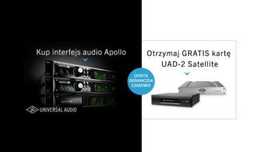 Promocja Universal Audio – UAD-2 Satellite gratis
