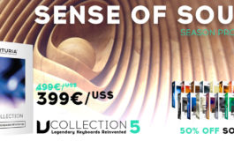 "Arturia – promocja ""Sense of Sound"""