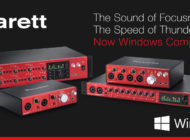Interfejsy Focusrite Clarett kompatybilne z Windows 10