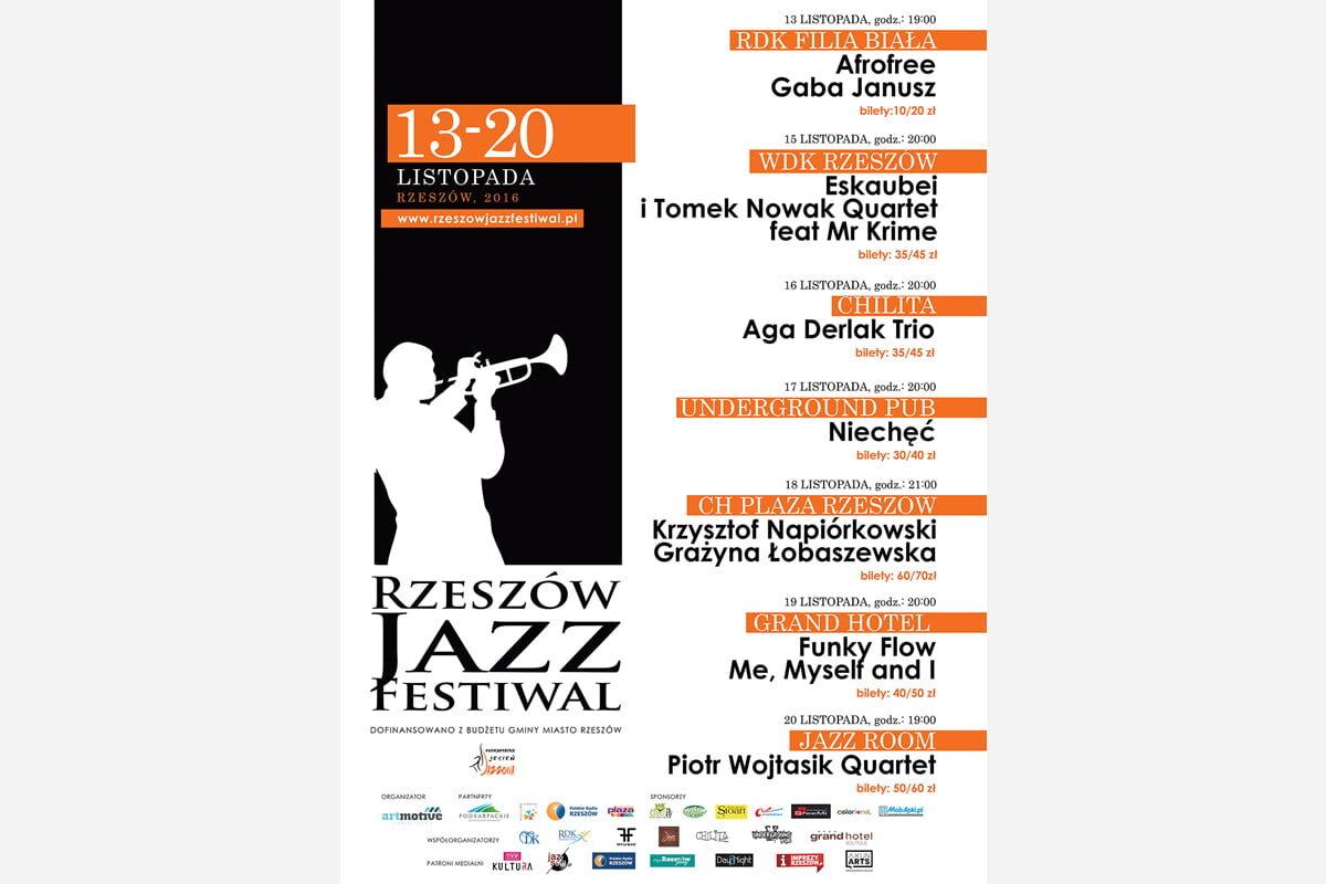 Rzeszów Jazz Festiwal po raz piąty