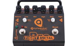 Amptweaker Tight Metal JR i Tight Metal PRO – test efektów gitarowych