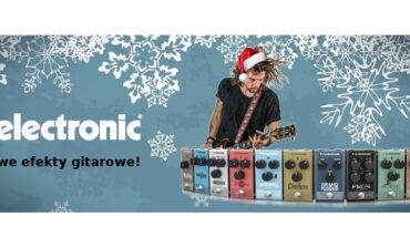 Najnowsza seria efektów gitarowych TC Electronic już w sprzedaży