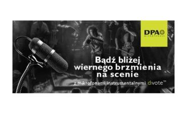 Zestawy mikrofonów DPA d:vote z prezentami