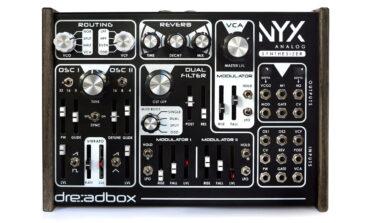 Dreadbox Nyx – kompaktowy syntezator analogowy