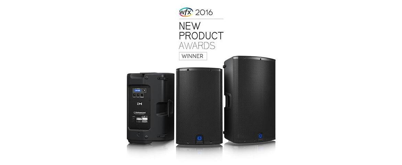 Seria iX firmy Turbosound nagrodzona