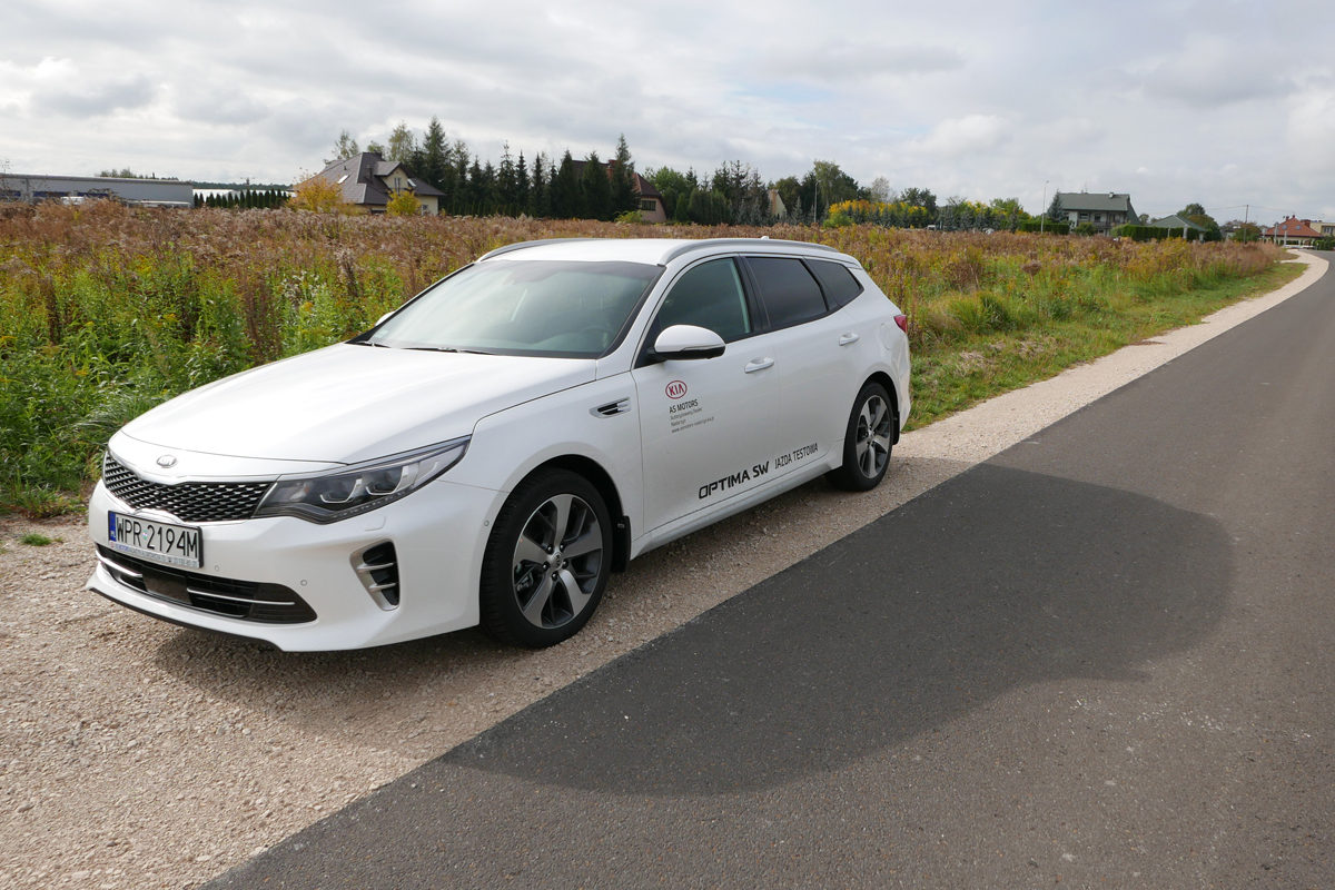 KIA Optima SW GT Line – test