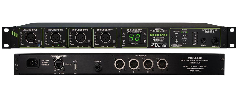 Studio Technologies Model 5414 – nowy interfejs audio