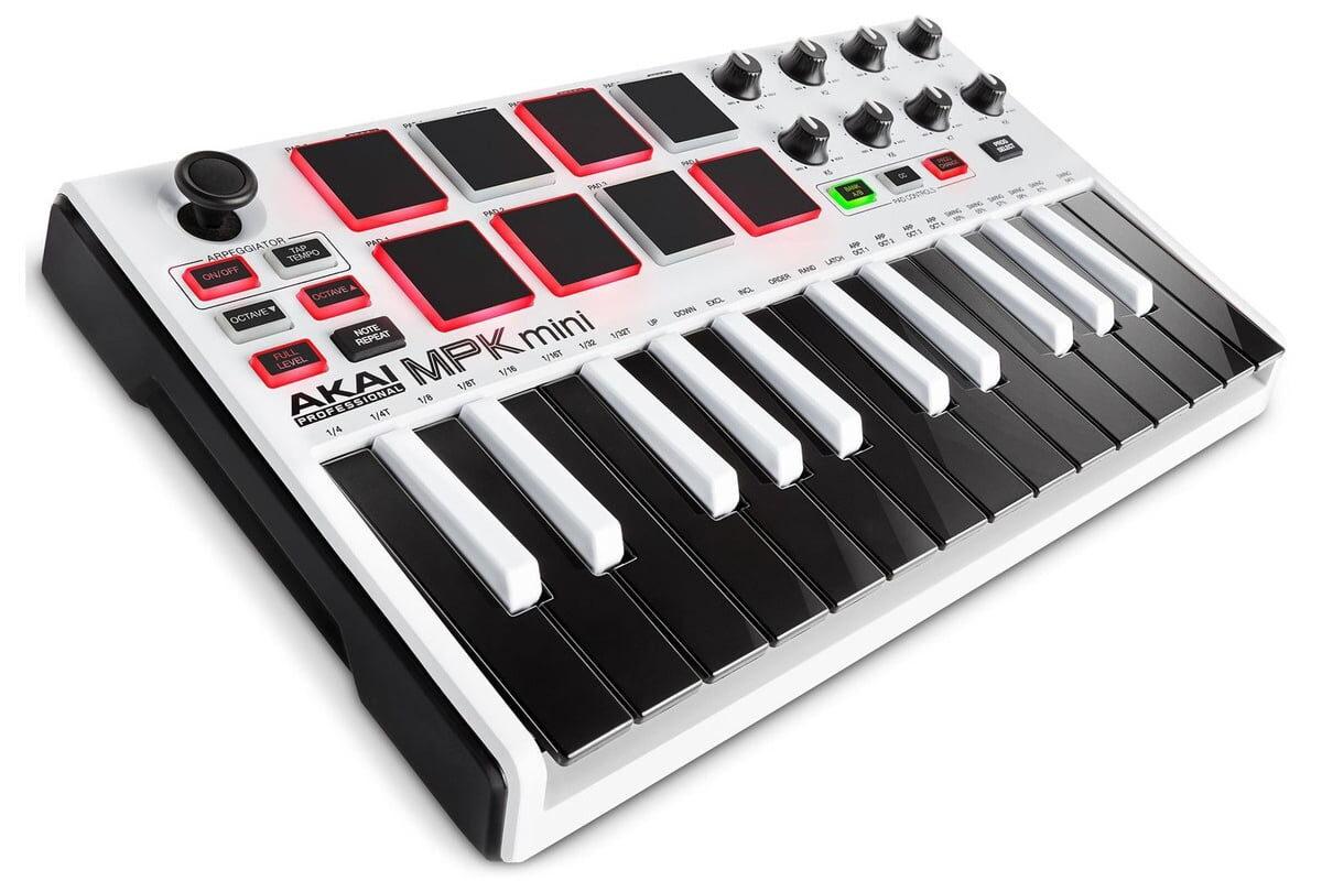 Akai MPK mini MkII White – limitowana wersja klawiatury sterującej