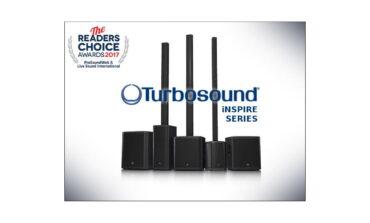 Turbosound iNSPIRE z wyróżnieniem