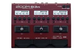Zoom B3n – nowy multiefekt dla basistów