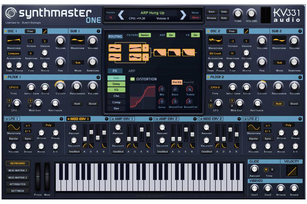 KV331 Audio – nowy syntezator SynthMaster One