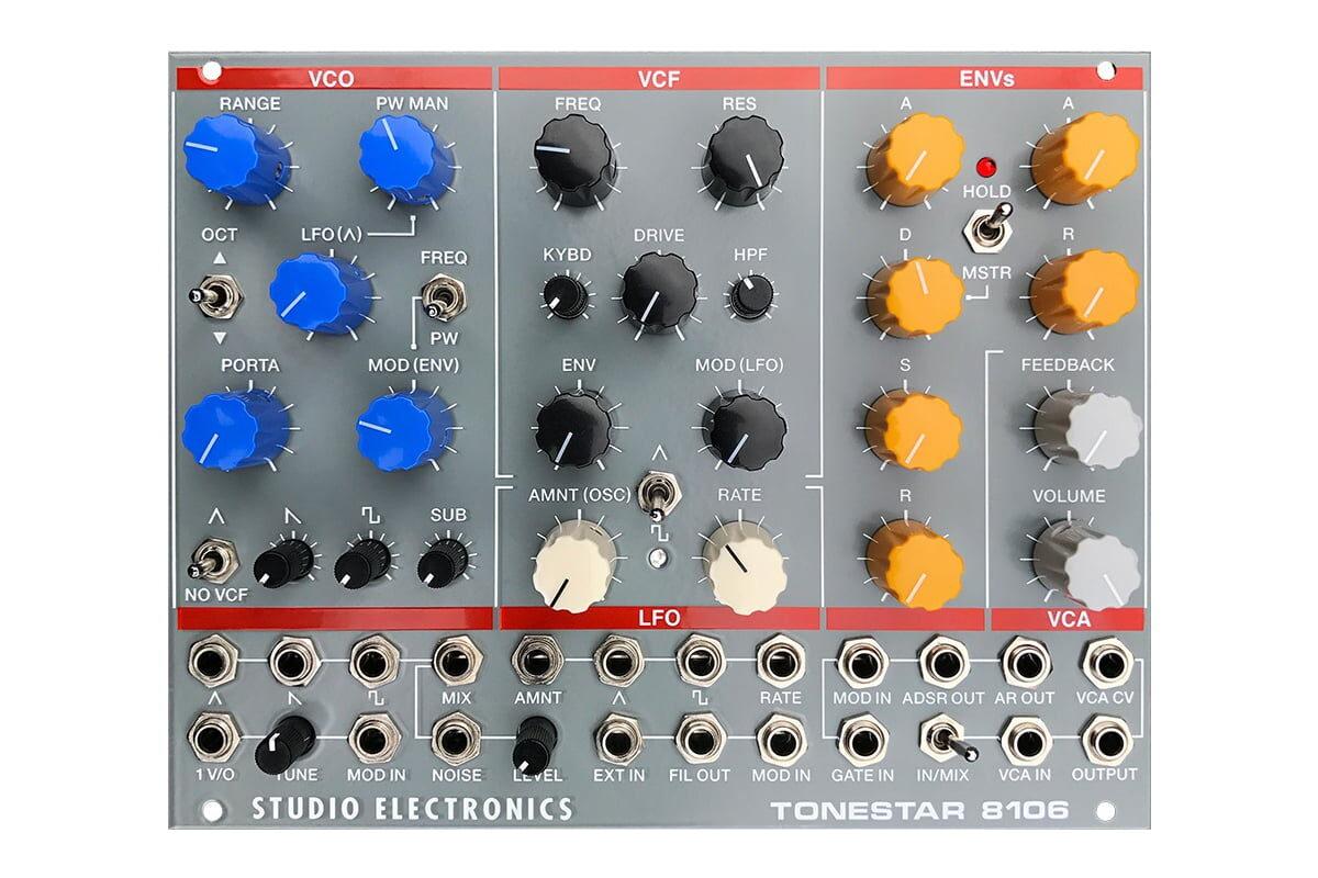 Studio Electronics Tonestar 8106 – syntezator Eurorack