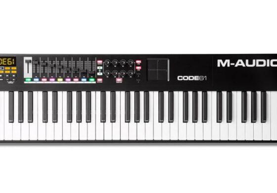 Klawiatury M-Audio CODE w kolorze czarnym
